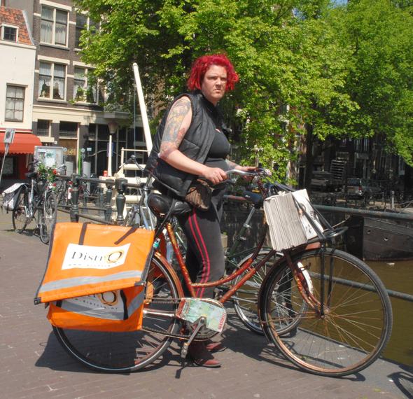 Голландцы иих велосипеды. Изображение № 1.