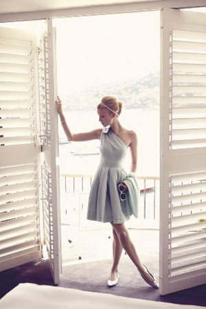Софи Холмс в съёмке для немецкого ELLE, май 2011. Изображение № 41.