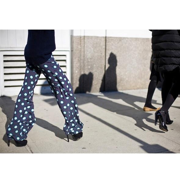 Изображение 137. На полях: 10 тенденций уличного стиля с прошедших недель моды.. Изображение № 137.
