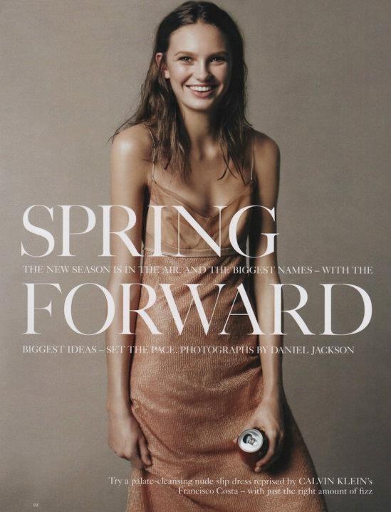 Съёмка: Дэниел Джексон для британского Vogue. Изображение № 1.