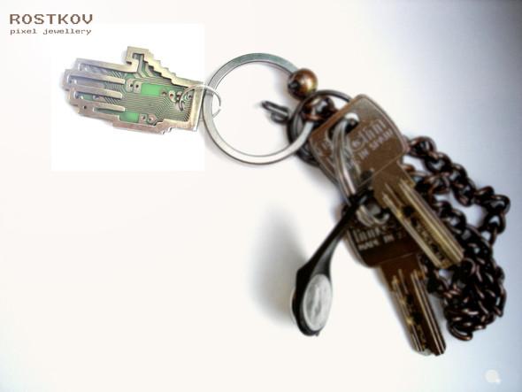 Олег Ростков. Pixel Jewellery. Изображение № 4.