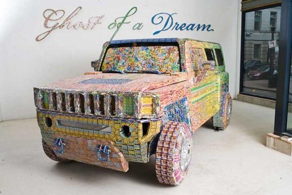 """""""Дом мечты"""", сделанный из 70000 лотерейных билетов. Изображение № 1."""