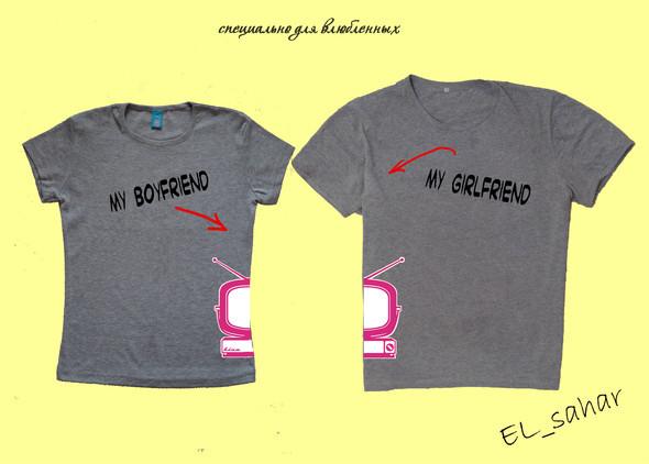 Elsaharova: половинчатые футболки на 14 февраля. Изображение № 14.