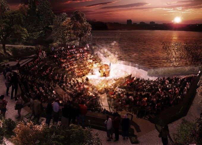 Пирс в Нью-Йорке превратят в плавучий парк. Изображение № 6.