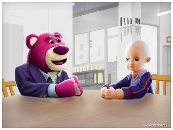 «История игрушек» в «Сиянии» Стенли Кубрика. Изображение № 6.