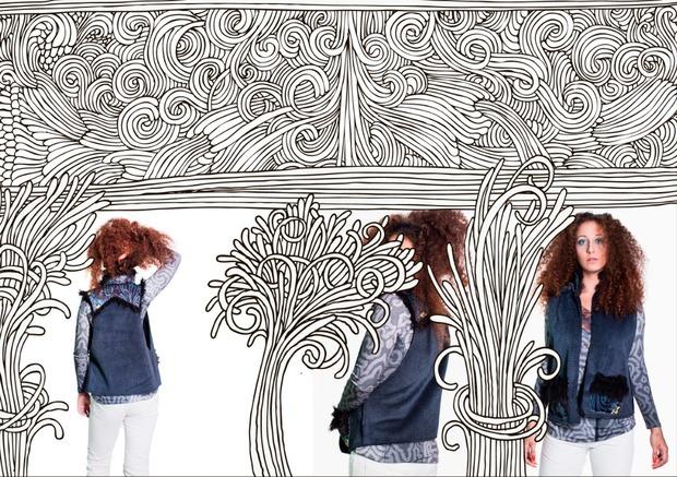 LOOKBOOK: ENA !! Самая весёлая  осень-зима 2012-13. Изображение № 3.