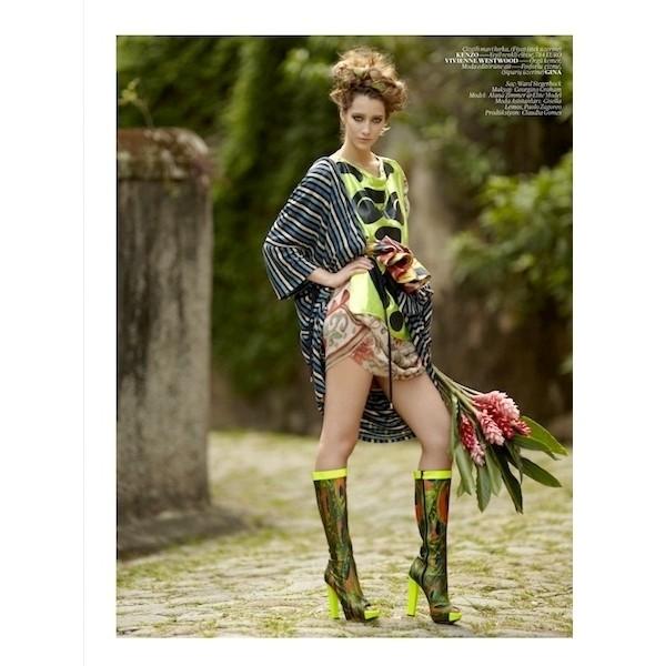 Изображение 46. Съемки: 10, Elle и Vogue.. Изображение № 45.
