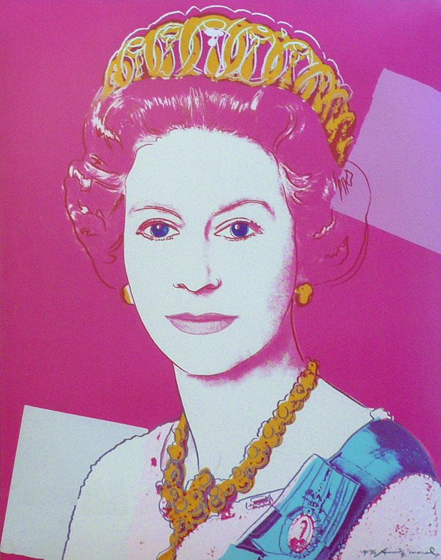 Работы Энди Уорхола попали в коллекцию Елизаветы II. Изображение № 4.