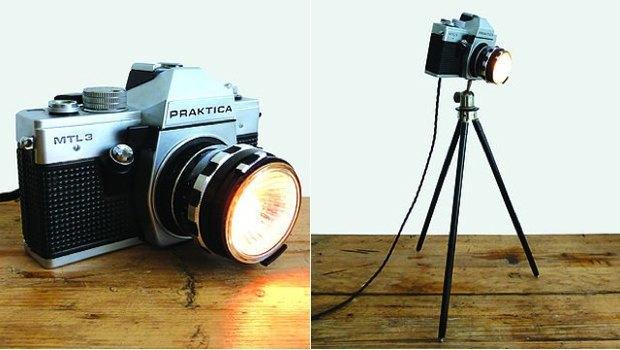 Винтажные фотоаппараты превратили в предметы интерьера. Изображение № 8.