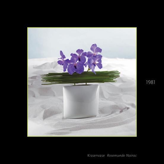 Ваза Kissenvase 22 см, 1981, Rosemunde Nairac. Изображение № 21.