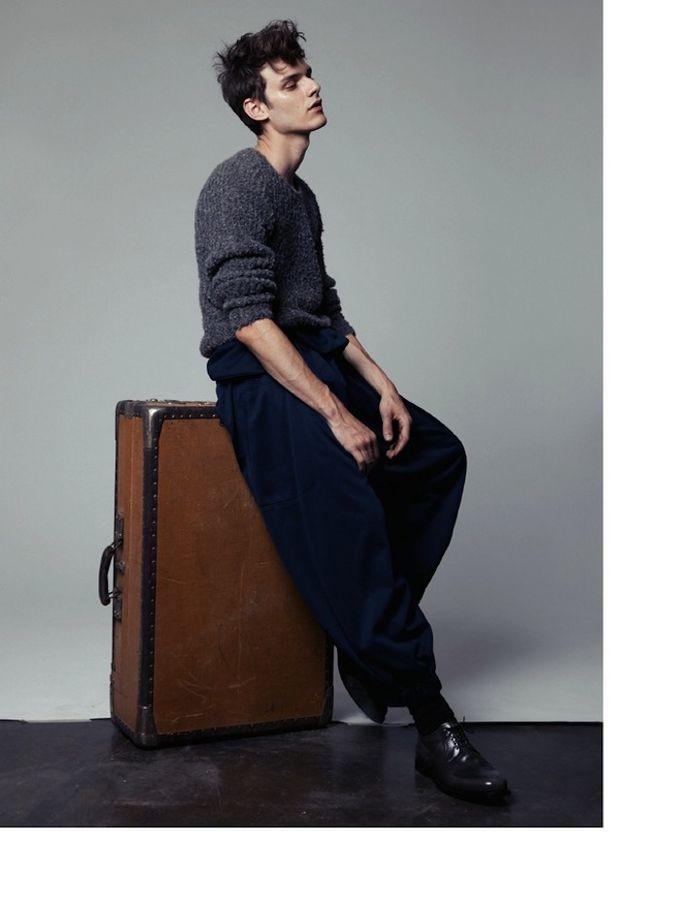 Вышли новые мужские съемки из Citizen K, Fashionisto, Vogue и других журналов. Изображение № 3.