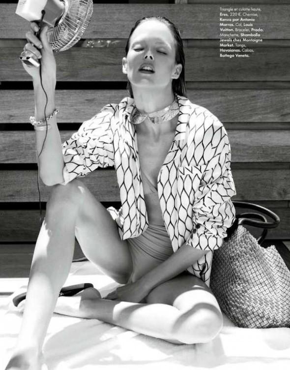 Съемки: Vogue, Elle, Tush и другие. Изображение № 15.
