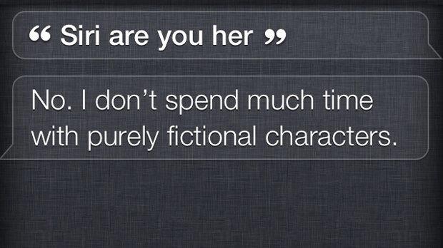Siri ревнует Спайка Джонза к его фильму Her . Изображение № 1.