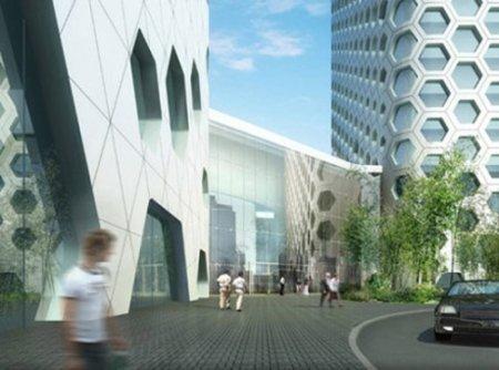 Сотовый небоскреб отMAD Architects. Изображение № 5.