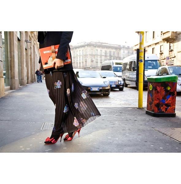 Изображение 171. На полях: 10 тенденций уличного стиля с прошедших недель моды.. Изображение № 171.