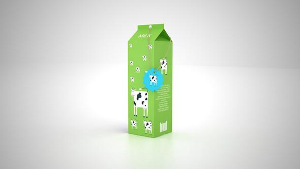 Новый дизайн упаковки молока плюс позиционирование. Изображение № 6.