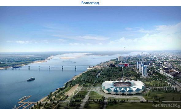 Архитектурные амбиции России для ЧМ по футболу 2018-22. Изображение № 2.
