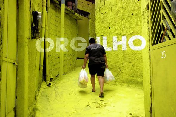 'Свет в переулках' граффити в фавелах. Изображение № 6.