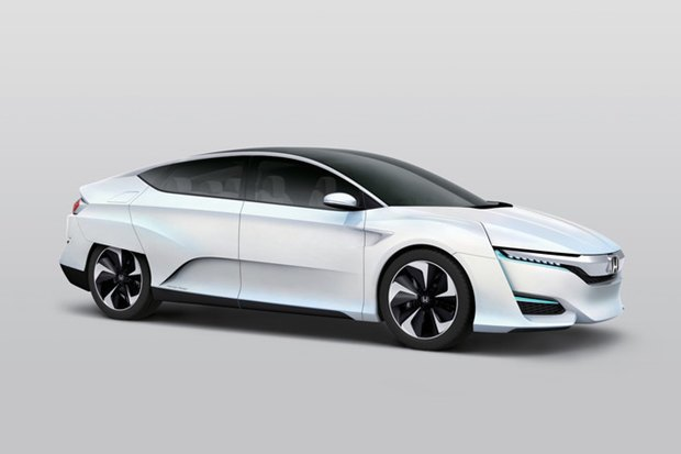 Honda показала новый концепт-кар на водородном двигателе. Изображение № 1.