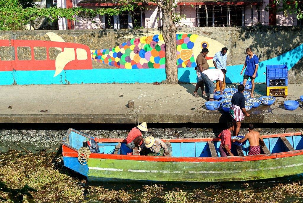 Репортаж с 1-й индийской биеннале: M.I.A., Бакштейн и граффити. Изображение № 23.