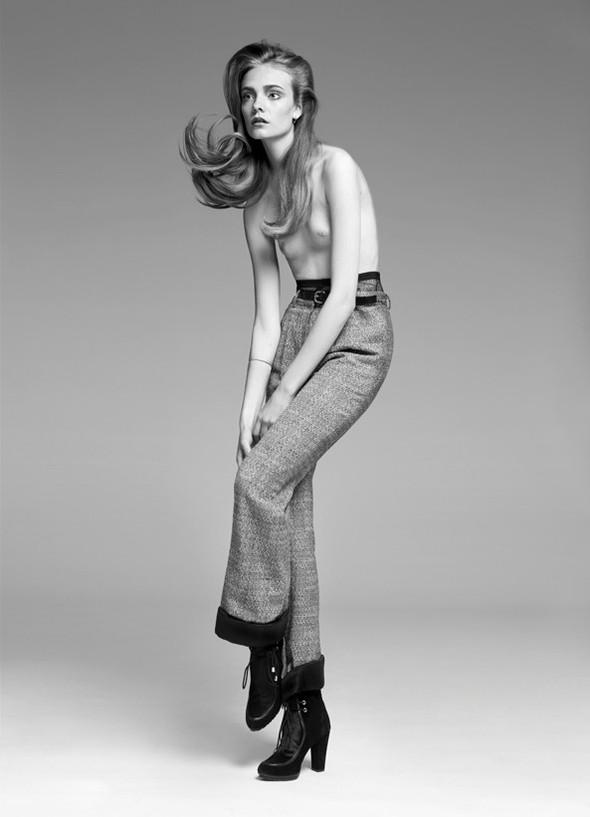 Съёмка: Нимуэ Смит для Glamour. Изображение № 9.
