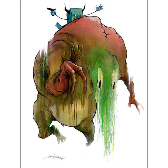 Crazy designs Alex Pardee. Изображение № 14.