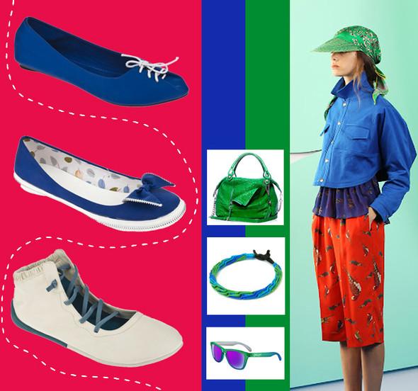 Тренды «Весна-Лето 2012»: синие сумерки High Street. Изображение № 3.