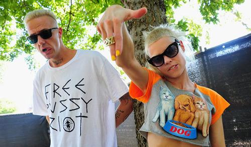 Die Antwoord, рэп-рейв-группа из ЮАР. . Изображение №18.