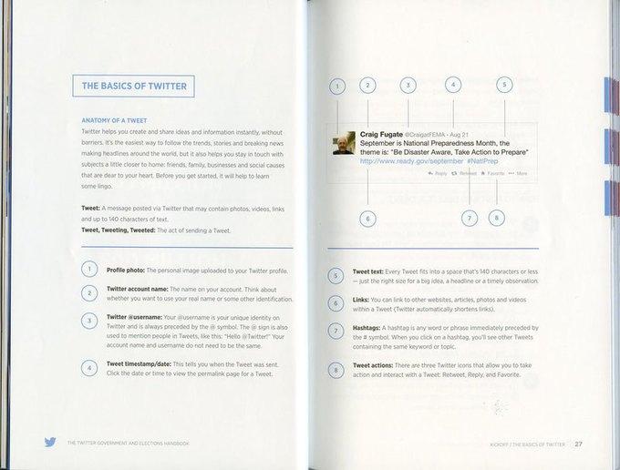Twitter выпустил инструкцию для политиков . Изображение № 2.