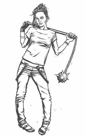 Девушки с оружием от Frank Barbara. Изображение № 1.