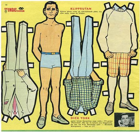 Бумажные куклы 1960-х годов!. Изображение № 3.