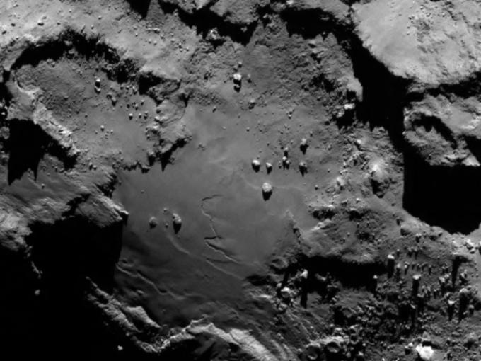 Фото дня: первые снимки кометы с близкого расстояния. Изображение № 3.