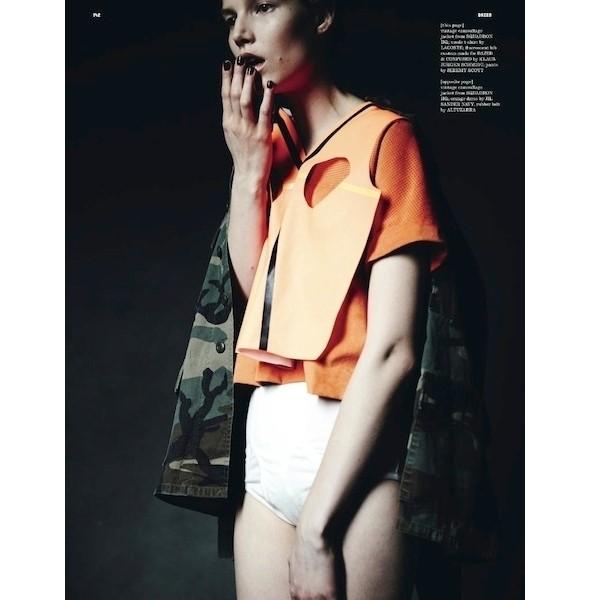 Изображение 4. Съемки: Dazed & Confused, Numero и Vogue.. Изображение № 5.