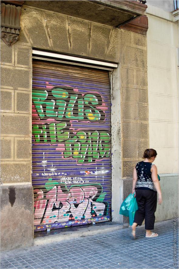 Стрит-арт и граффити Барселоны, Испания. Изображение № 6.