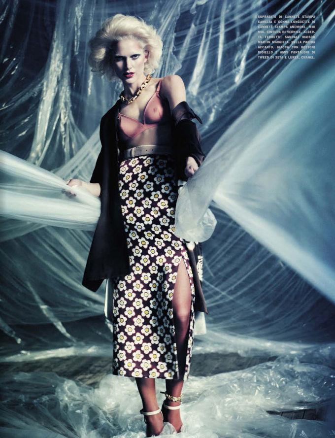 Dazed & Confused, Fat, Vogue и другие журналы выпустили новые съемки. Изображение № 62.