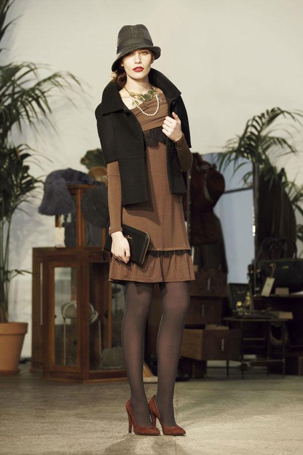 Ретро всегда в моде. Aniye By, осень-зима 2012/13. Изображение № 8.