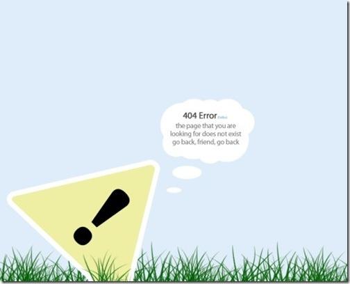 20 Интересных оформлений страницы ошибки 404. Изображение № 9.