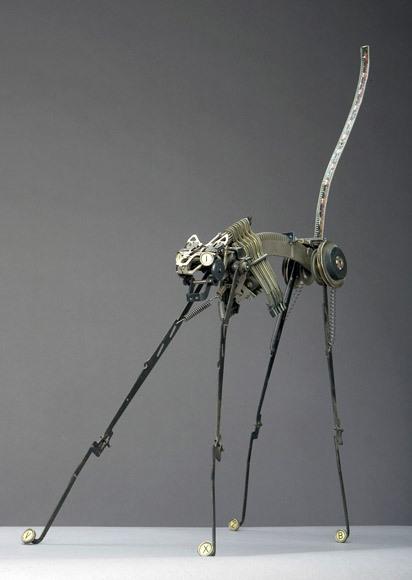 Джереми Майер- скульптуры изпишущих машинок. Изображение № 3.
