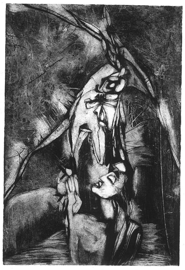 Ручная графика Ирины Сазоновой «Эхо». Изображение № 4.