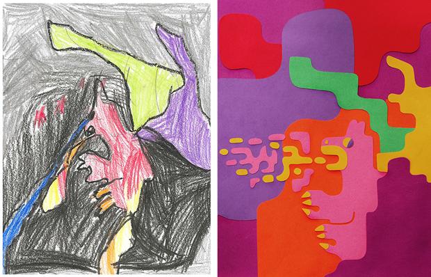 Художники создали монстров наоснове детских рисунков. Изображение № 32.