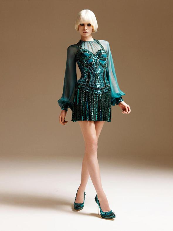 Изображение 121. Лукбуки: Atelier Versace, Sandro, Sonia by Sonia Rykiel и другие.. Изображение № 10.