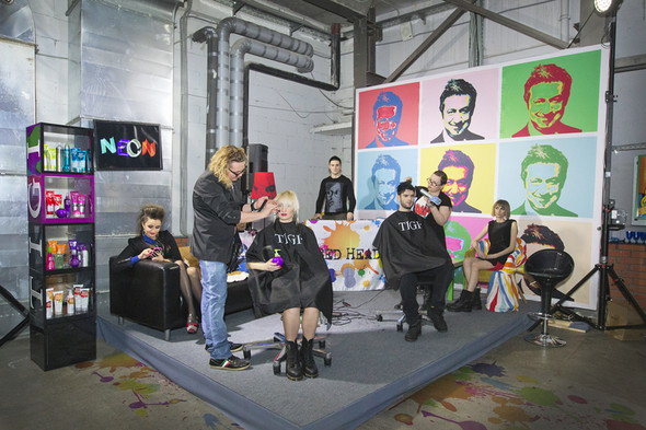 Официальный запуск компании TIGI в России. Изображение № 5.