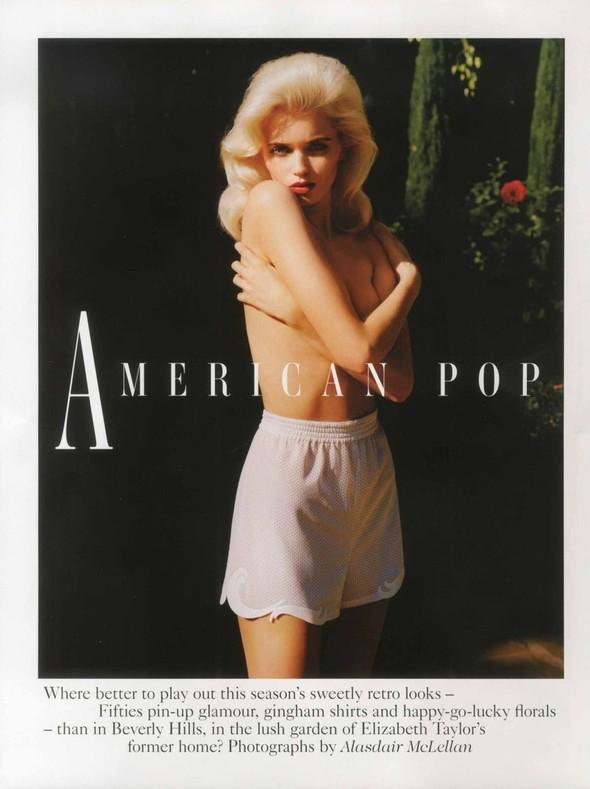 Съёмка: Эбби Ли Кершо для Vogue. Изображение № 1.