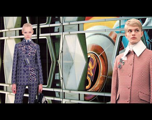 Новый лукбук Prada Real Fantasies посвящен космосу. Изображение № 3.