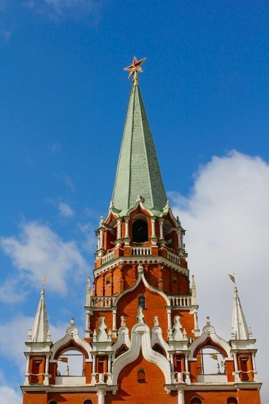 Интересные места России - Московский Кремль. Изображение № 3.