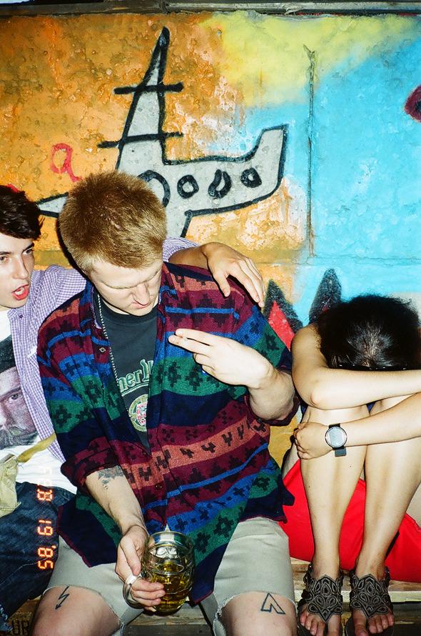 Люди на вечеринке W-O-S Backyard Party. Изображение № 1.