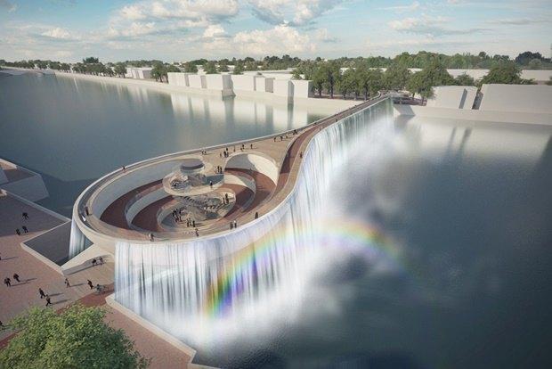 Выложены 74 проекта нового моста через Темзу. Изображение № 26.