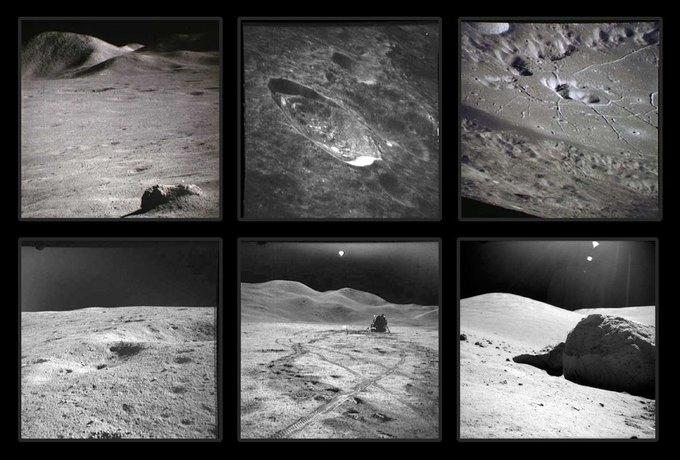 NASA выложили онлайн фотоисторию миссии «Аполло». Изображение № 5.