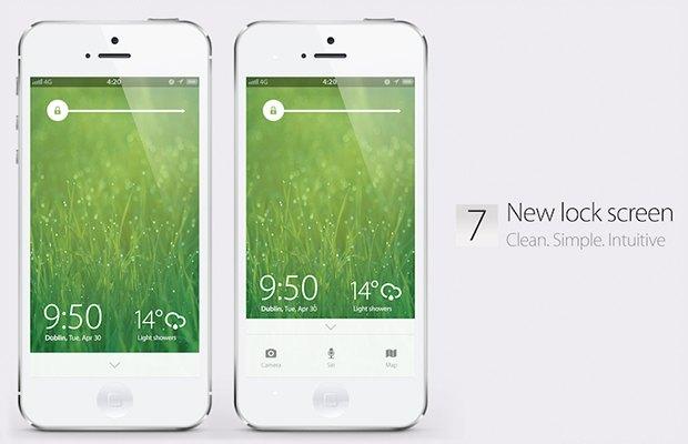Дизайнеры концептов iOS 7 критикуют обновление Apple. Изображение № 3.