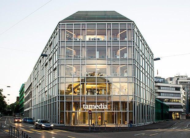 Штаб-квартира телекоммуникационной компании Tamedia, 2013 год. Изображение № 17.